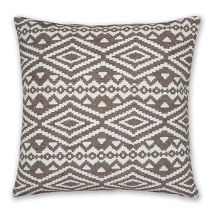 Aztec Natural Cushion 58x58cm
