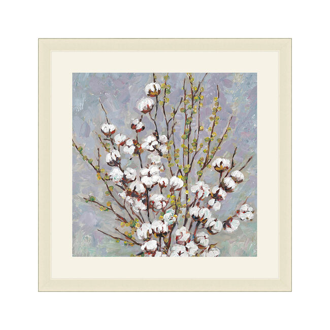 Wild Cotton Framed 37x37cm