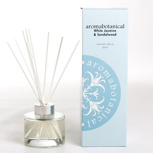 White Jasmine & Sandalwood 200ml Reed Diffuser