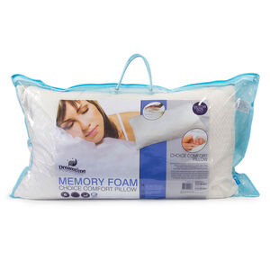 Comfort Choice Memory Foam Pillow
