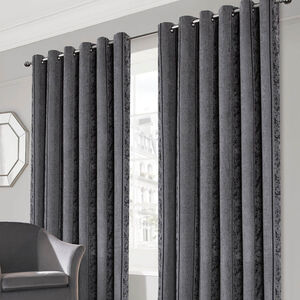 PARKER GREY 66x54 Curtain