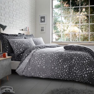 SINGLE DUVET COVER Oscar Grey