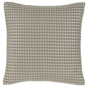Waffle Raised Champagne 45x45 Cushion