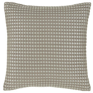 Waffle Raised Cushion 45x45cm - Champagne