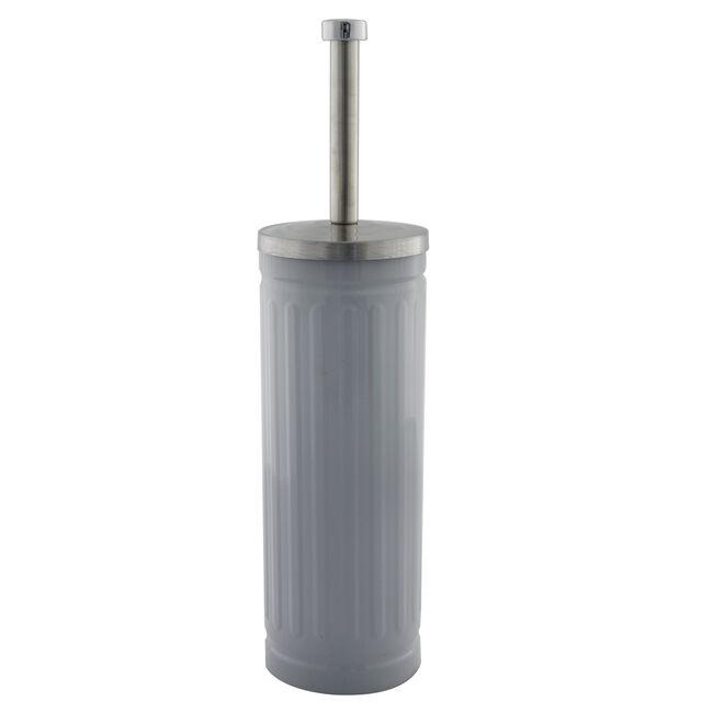 Renzo Toilet brush/Holder Slate Grey