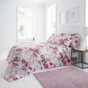 Babs Bedspread 200 x 220cm - Pink