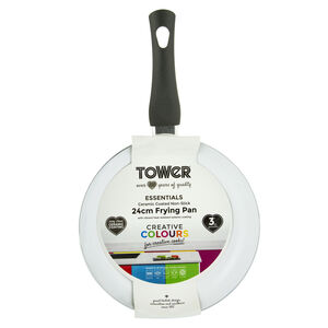 Tower Ceramic Graphite Frying Pan 24cm