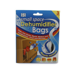 Dehumidifier Bags 3 Pack