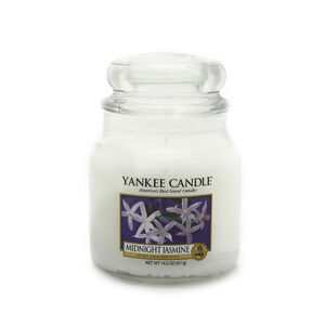 Yankee Midnight Jasmine Medium Jar