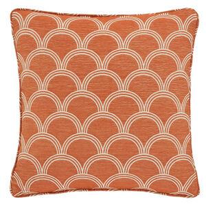 Geo Jacquard Terra 45x45 Cushion