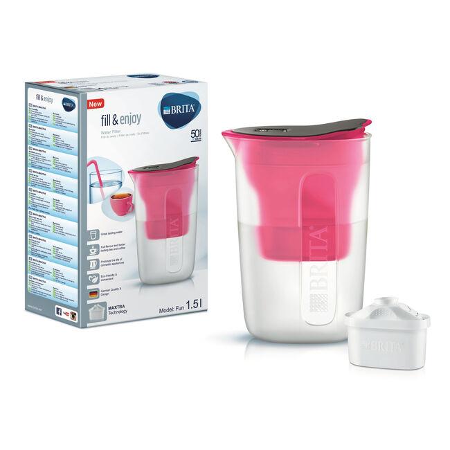 Brita Fun Pink Water Jug