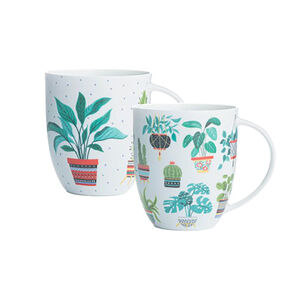 Plants Bone China Mug