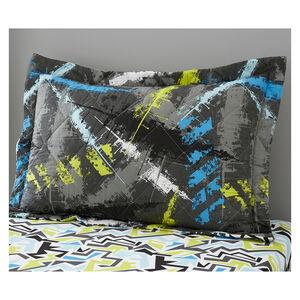 Grunge Direction Pillowshams 50cm x 75cm