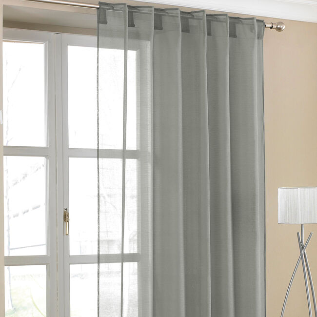 Voile Curtain Panel Amber