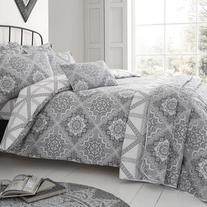 Ice Crystal Duvet Cover