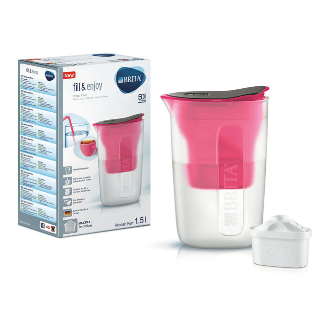 Brita Fun Water Jug - Pink