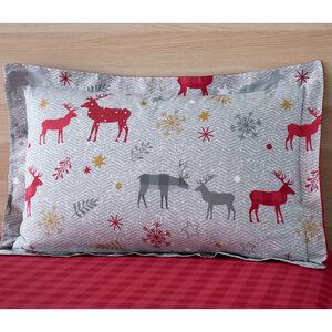 Herringbone Stag Oxford Pillowcase Pair