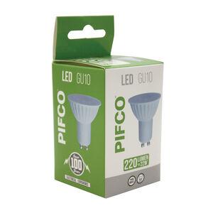 PIFCO LED BULB GU10 3W 220Lumen Energy Saving