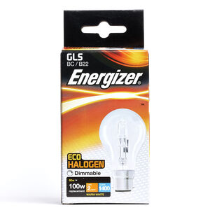 Eco Clear GLS BC (B22) 1 Halogen Bulbs 80W