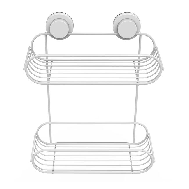 Loc & Tight 2 Tier Bathroom Rack