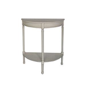 Lyle Half Moon Table 75X30X75CM White