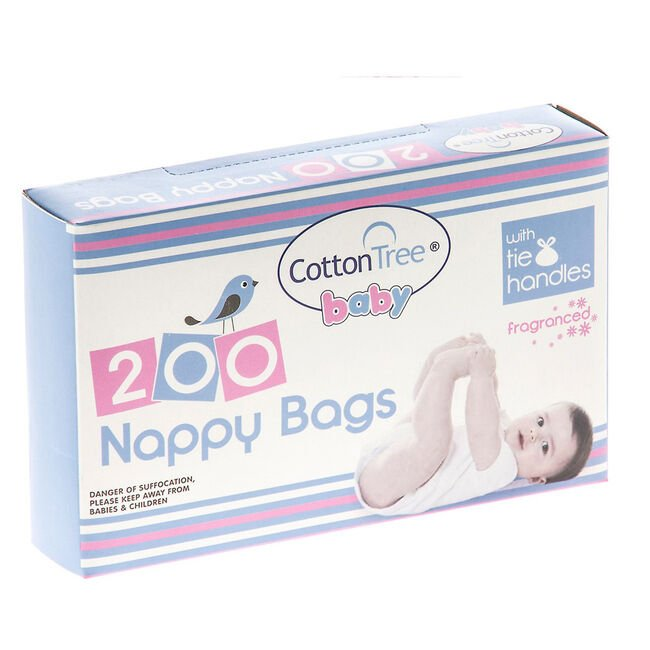 Fragranced Nappy Bags 200