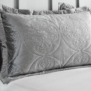 Mandala Pillowshams 50x75cm - Silver
