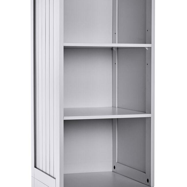 Porto Bathroom Tall Cabinet - Grey