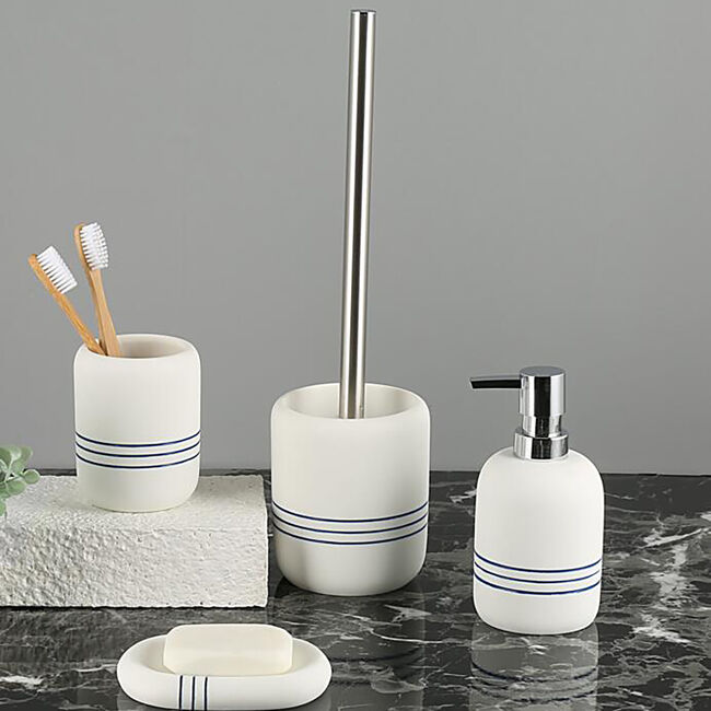 Maritime Toilet Brush Holder