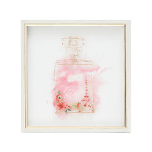 Scent Of Paris Print Framed 33X33cm
