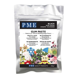 PME Gum Paste 200g - Black