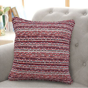 Morgan Cushion 45x45cm - Red