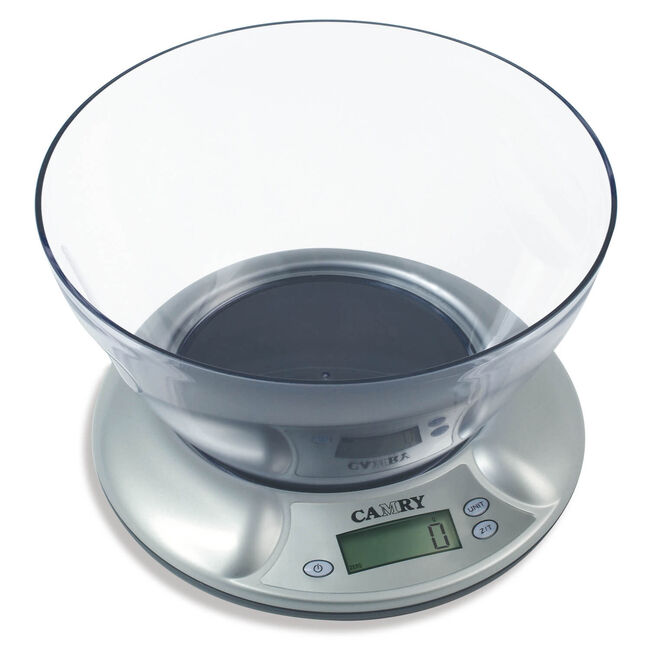 Camry Electronic Kitchen Scale with Bowl