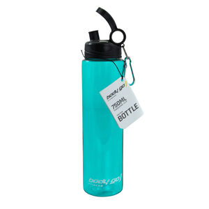 BodyGo Fitness Flip Bottle 750ml - Turquoise