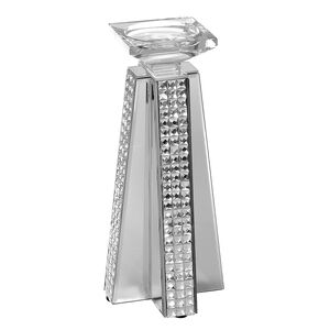 Cashel Living Square Diamond Candle Holder