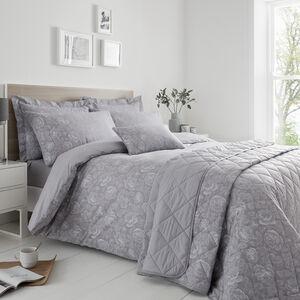 Roisin Oxford Pillowcase Pair - Grey
