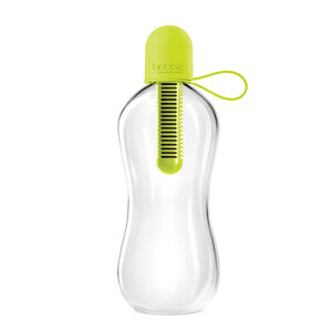 Bobble Water Bottle With Tether Cap 550ml - Lime