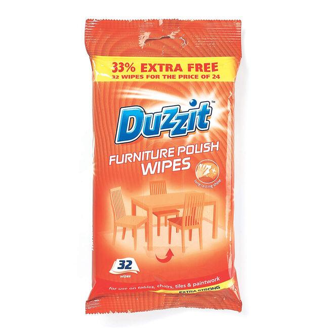 Duzzit Furniture Polish 32 Wipes