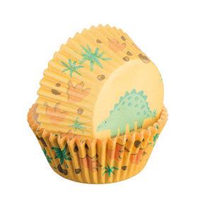 60 Dinosaur Cupcake Cases