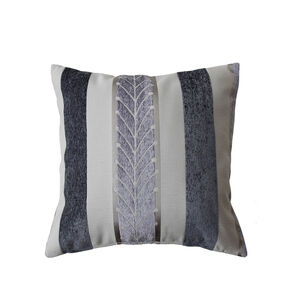 Twohig Stripe Charcoal Cushion