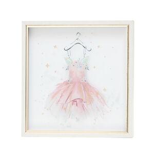 Unicorn Gown Print Framed 33X33cm