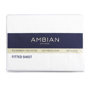 300 Threadcount Bamboo/Cotton Fitted Sheets