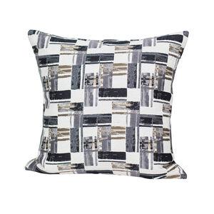 Soleil Cushion 43x43cm - Black