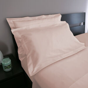 Oxford 500 Threadcount Pillowcase Pair - Blush
