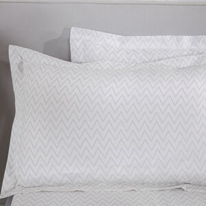 Hydrangea Zig Oxford Pillowcase Pair