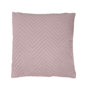 Triangle Stitch Cushion 45x45cm - Mauve