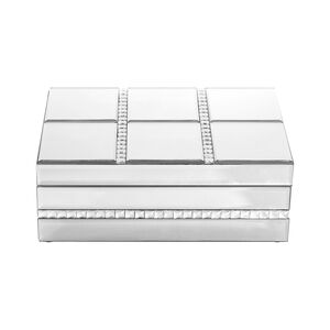 Cashel Living Square Diamond Jewellery Box