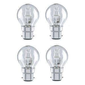 Stylectrix 28W Halogen Round Bulbs 4Pk