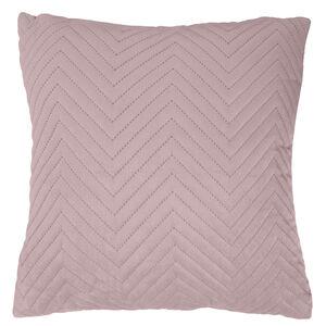 Triangle Stitch Cushion 58x58cm - Mauve