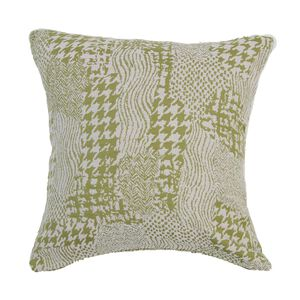 Alexa Patchwork Green 45x45 Cushion